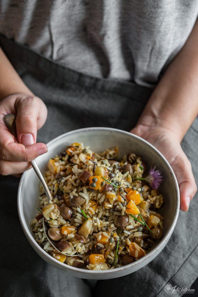 Insalata di riso autunnale