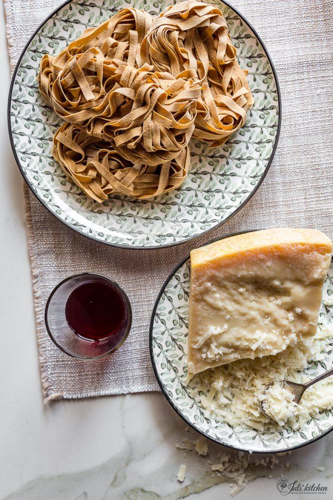 Tagliatelle with pork ragù