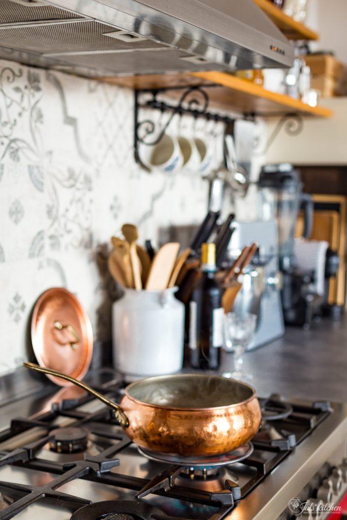 Copper cookware Bottega Donnini