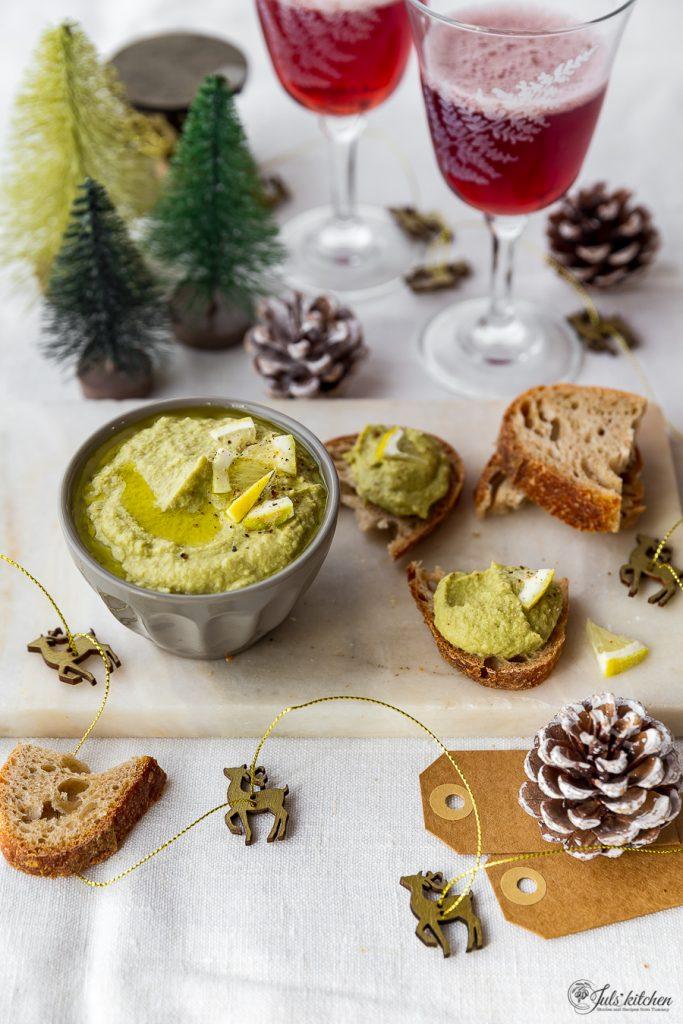 Paté di olive verdi e carciofi